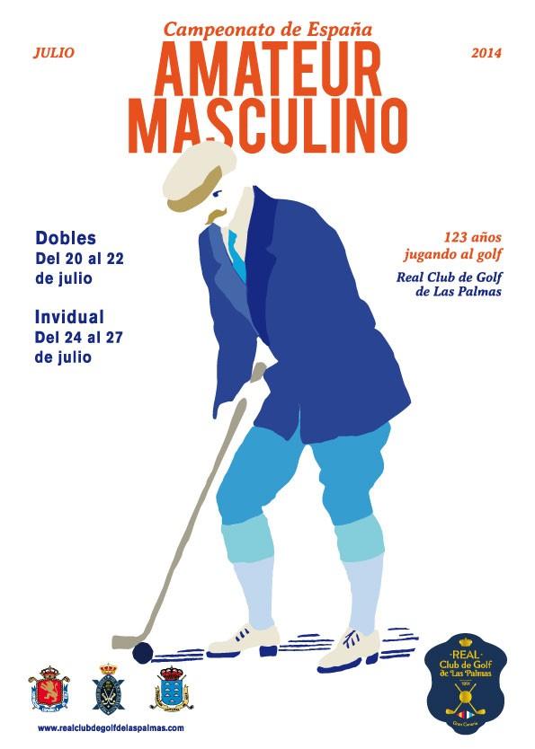 Campeonato de España de Golf Amateur Masculino 2014